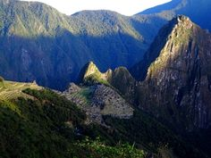 "The sun rising over ""the lost city"" of the Incas - Machu Picchu is a sight we will cherish forever. Learn everything you need to know about the hike in our post: The Inca Trail Hike - Logistics, Tips and Training.  http://wp.me/p51rdU-3Q"