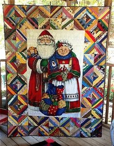 Image result for quilting with panels ideas