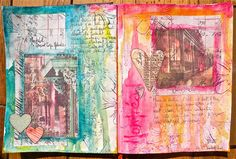 Art Journal Challenge 2 by Studio Shirel, via Flickr
