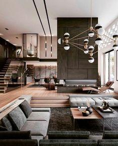 Home Room Design, Home Design Decor, Dream Home Design, Luxury Home Decor, Modern House Design, Luxury Interior, Modern Interior Design, Interior Design Living Room, Living Room Designs