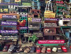 Project Morrinho Childhood Games, Recycled Materials, Brazil, The Neighbourhood, Recycling, 1, Community, Projects, Rio De Janeiro
