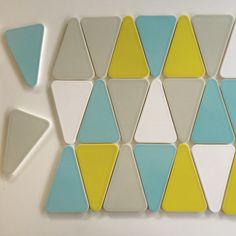 Kiln Ceramic Wedge Ceramic | Modwalls Tile Color Splash