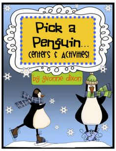 Penguin packet full of activities!