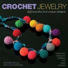 Crochet jewelry. Book online