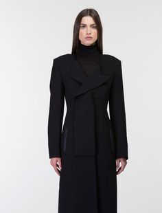 LONG ASYMMETRICAL COAT, Costume National