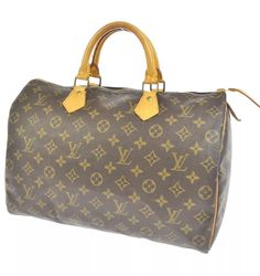 Louis Vuitton Monogram Sdy 35 Hand Bag W Lv Lock Key Authentic Ebay