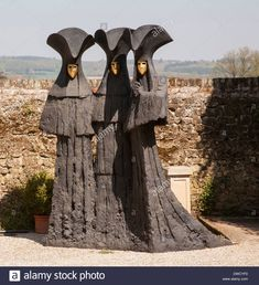 Philip Jackson sculptures Midhurst Stock Photo