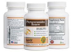 Premium Quality Plant Derived Pure Phytoceramides  350 mg  Recommended Dosage for Youthful Skin  Includes Vitamins A C D  E  Supports Softens and Renews your Skin for Healthier Younger Look  Skin Restoring Supplement  AntiAging Skin Care  Skin Rejuvenating  Cell Renewal  Skin Hydration  SaVit Nutrition Guaranteed Results -- Read more  at the image link.  This link participates in Amazon Service LLC Associates Program, a program designed to let participant earn advertising fees by advertising…