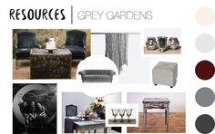 Archive Rentals Guest Designer: Valerie Killeen Grey Resource // #archiverentals #vintagerentals #design