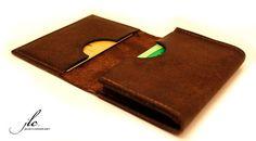 Tarjeta de crédito titular/cartera naranja/marrón por jConcetto