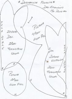 FELTRO MOLDES ARTESANATO EM GERAL: Duendes - Maria's Craft's