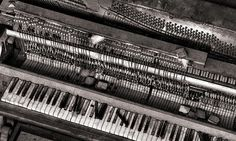 I believe a piano not only wants to be played but needs to be played; for the well being of both the pianist and the piano itself.