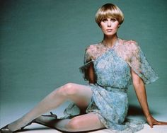 Want the dress. If Joanna Lumley has worn it, even better.
