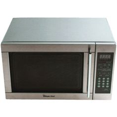 1.3 Cubic-ft, 1,100-Watt Microwave with Digital Touch (Stainless Steel) - MAGIC CHEF - MCD1311ST