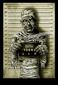 Mummy Mugshot by ScreamingDemons on DeviantArt - https://www.etsy.com/uk/shop/ScreamingDemonsArt?ref=hdr_shop_menu