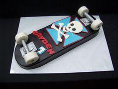 Skateboard Cake on Cake Central