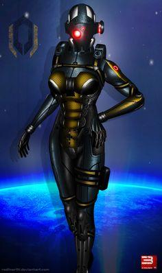 Mass Effect 3 Cerberus Nemesis (2012) by RedLineR91.deviantart.com