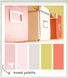 office color palette. A Soft Coral, Pink, And Grey Color Palette. Great Scheme For Office Palette F