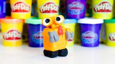Play Doh WALL-E playset playdough by Funny Socks
