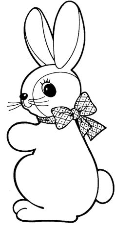 Cute Easter Bunny Coloring Page From Category Select 28336 Printable Crafts Of Cartoons Nature Animals Bible And Many More