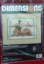 Dimensions Counted Cross Stitch A Taste of the Southwest NIP