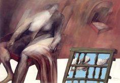 PINTORES Y PINTURAS - JUAN CARLOS BOVERI: AUGUSTO RIVERA GARCÉS - el segundo llanto de francisco quintana