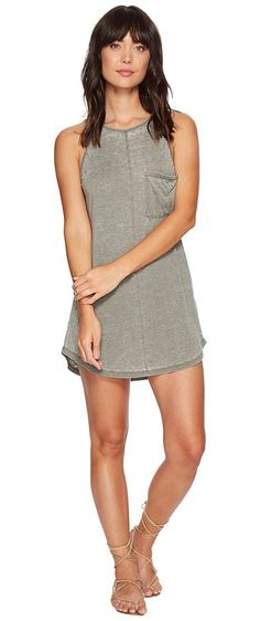 Rip Curl Premium Surf Dress (Vetiver) Women's Dress - Rip Curl, Premium Surf Dress, GDRAK8-313, Apparel Top Dress, Dress, Top, Apparel, Clothes Clothing, Gift - Outfit Ideas And Street Style 2017