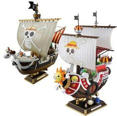 28cm One Piece Going Merry Thousand Sunny Figurine //Price: $47.99 & FREE Shipping //     #OnePiece