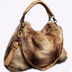 Zipper Design Rivets Decorated Apricot Faux Fur Clutches Bag on Chiq $18.99 : Buy Trends on CHIQ.COM http://www.chiq.com/zipper-design-rivets-decorated-apricot-faux-fur-clutches-bag