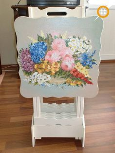 Diy Y Manualidades, Repurposed, Upcycle, Diy And Crafts, Shabby Chic, Pastel, Chair, Furniture, Trays