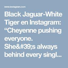 "Black Jaguar-White Tiger en Instagram: ""Cheyenne pushing everyone. She's always behind every single rebellion in the Foundation... Video captured by @gavinbondphotography…"""
