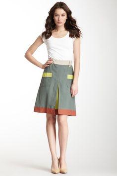 M Missoni Colorblock Skirt  So freakin cute!