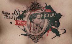 typography tattoo