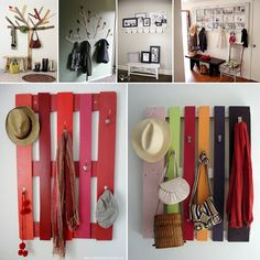 10 DIY Coat Rack Ideas for Your Mudroom - http://www.amazinginteriordesign.com/10-diy-coat-rack-ideas-mudroom/
