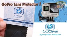 GoClear Hydrophobic Water Repellent Lens Protector for GoPro 3 / 3+ / 4