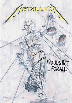 #Drapeau METALLICA - And Justice For All #metallica www.rockagogo.com
