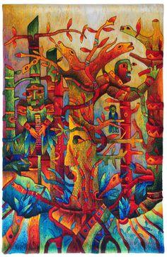 "Tapestry ""Mayor Spirit"" by Maximo Laura"