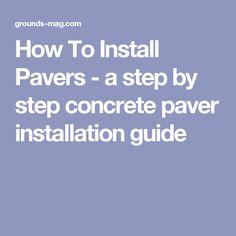 Best 25 Concrete Pavers Ideas On Pinterest Concrete Paver Patio Pavers Patio And Outdoor Pavers
