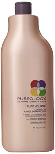 Pureology Pure Volume Conditioner 338 oz ** Want to know more, click on the affiliate link Amazon.com.