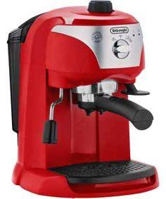 De'Longhi Motivo Espresso Cappuccino Maker - Red.