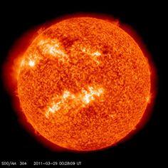 Le Soleil en pleine activité