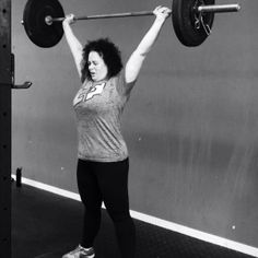 This is me!  Holding the 90# that I lost this year!   Joined CrossFit Painesville in May 2014