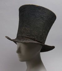 Man's Hat  c. 1820 - 1825 (USA)