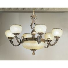 Classic Lighting Alexandria II 9 Light Shaded Chandelier Finish: Satin Bronze with Brown Patina, Crystal Type: Crystalique