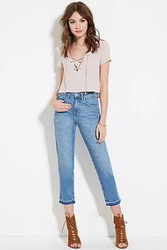 Ankle Jeans | Forever 21 #forever21denim