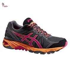 Asics - Chaussures Running Gel Fujitrabuco 3 Femme Asics - 40.5 - Marron - Chaussures asics (*Partner-Link)