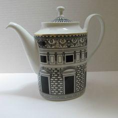 Rosenthal Fornasetti Palladiana Coffee Pot / Tea Pot Handle Damaged Studio-Linie