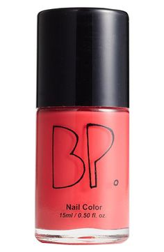 Match your outfit with this fast-drying, long-wearing BP. nail lacquer.