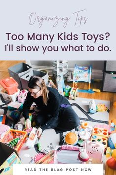 How can you tell if your kids have too many toys? My guess is that you do! So I have tips for how you can declutter toys with your kids. Kids Bedroom Organization, Organization Skills, Playroom Organization, Organizing, Small Playroom, How To Teach Kids, Kid Closet, Inspiration For Kids, Decluttering