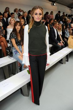 Olivia Palermo at Mary Katrantzou - The Best Front Row Fashions at London…